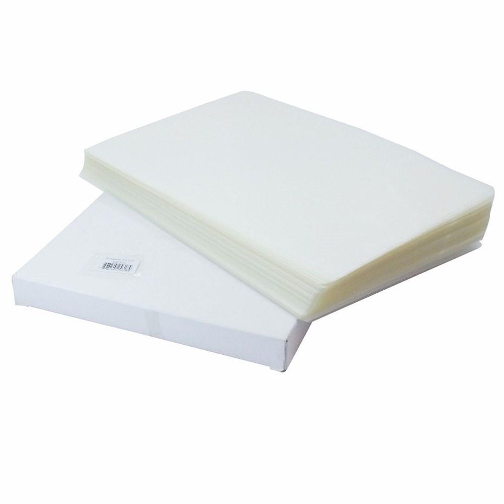 Plástico Plastificação Polaseal 2 X Rg 79x108 E 02 X A4 220x307 0,05mm 125