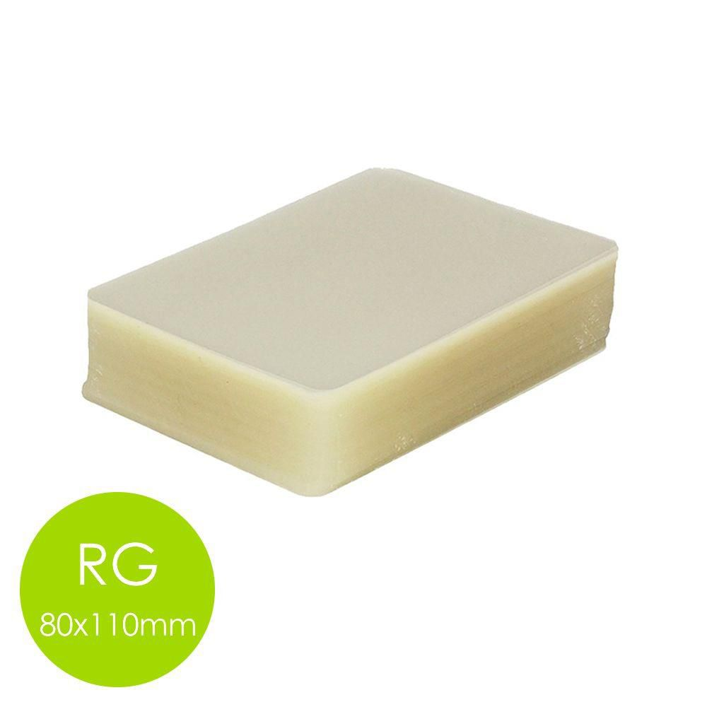 PLASTICO PLASTIFICAÇÃO POLASEL 2 CPF 2 Rg 1 A4 - 0,07mm