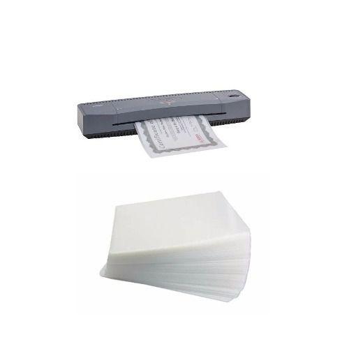 Plastificadora A4 E A3 Aurora + 100 Polaseal A4, 100 Rg e 100 CPF