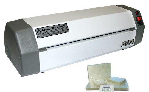 Plastificadora Gazela Ac.00.23.30 + 600 Polaseal 5 Rg 1 A4