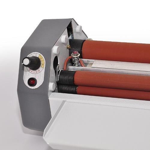 Plastificadora Gazela Compacta Até A3 + 100 Polaseal Oficio
