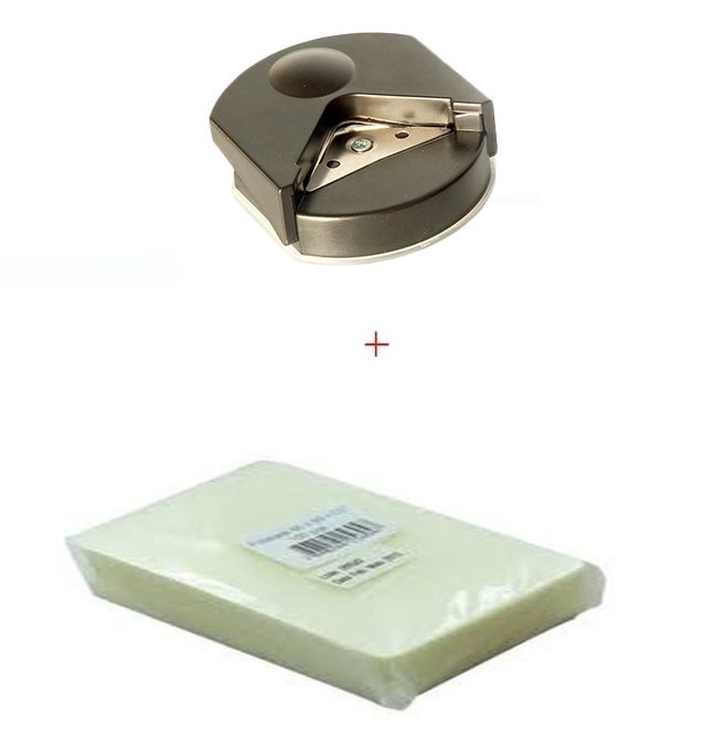 Polaseal 2 Centos A4 - 220x307-0,05mm e canteadeira 5 mm