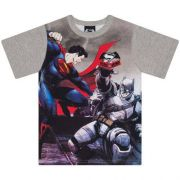 Camiseta Infantil Masculino Batman vs Superman