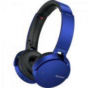 Foto 1 - Fone de Ouvido Wireless Bluetooth com Microfone Mdr-XB650BT Azul Sony Foto 2 - Fone de Ouvido Wireless Bluetooth com Microfone Mdr-XB650BT Azul Sony Fone de Ouvido Wireless Bluetooth com Mic
