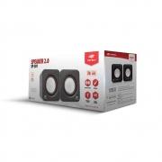 Caixa de Som C3Tech Sp301 3W Usb Preta