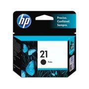 Cartucho de Tinta HP 21 7ml Preto