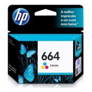 Cartucho de Tinta HP 664 Colorido
