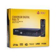 Conversor Digital p/ TV Infokit ITV-500