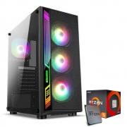 CPU Gamer / Ryzen 5 3400G / B450m Gigabyte / 8GB DDR4 3000mhz XPG Spectrix / SSD M.2 Kingston 120GB