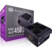 Fonte ATX 450W Cooler Master MWE White V2 80 Plus Standart MPE-4501-ACAAW-BR