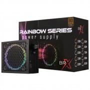 Fonte ATX 500W BRX Rgb Rainbow 80+ Bronze