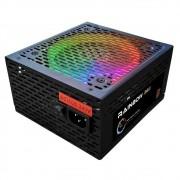 Fonte ATX 800W BRX Rgb Rainbow 80+ Bronze