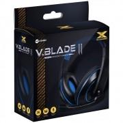 Headset Gamer P2 Blade 2 Preto/Azul Vinik