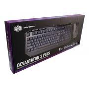 Kit Mouse e Teclado Gamer Devastator 3 Plus SGB-3001-KKMF1-BR