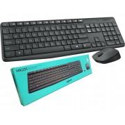 Kit Mouse e Teclado Wireless Logitech MK235