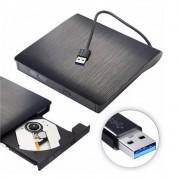 Leitor e Gravador de Cd/Dvd-Rw Externo Usb 3.0 Dg-300