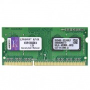 Memória para Notebook 4GB Ddr3 1333MHz Kingston Kvr13s9s8/4