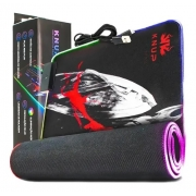 Mousepad Gamer RGB Knup 800x300mm Kp-s011
