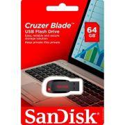 Pendrive 64GB Sandisk Cruzer Blade