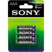 Pilha Alcalina AAA Sony am4l-b4d