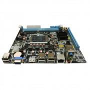 Placa Mãe BrazilPC 1155 BPC-H61M-T (2xDDR3/1xVGA/1xHDMI/6xUSB2.0/REDE/AUDIO)