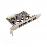 Placa Pci 4 Portas Usb 3.0 DEX dp-43