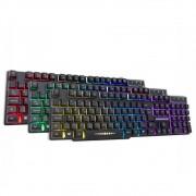 Teclado Gamer KMex RGB Rainbow Km5228