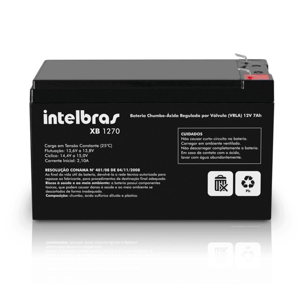 Bateria p/ Nobreak 12V 7A Intelbras XB1270