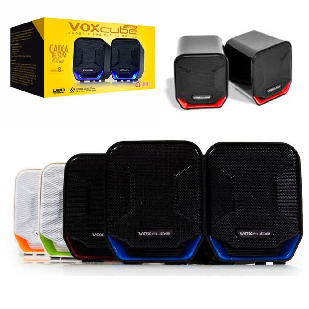 Caixa de Som 8W com Bass Infokit VC-D360O