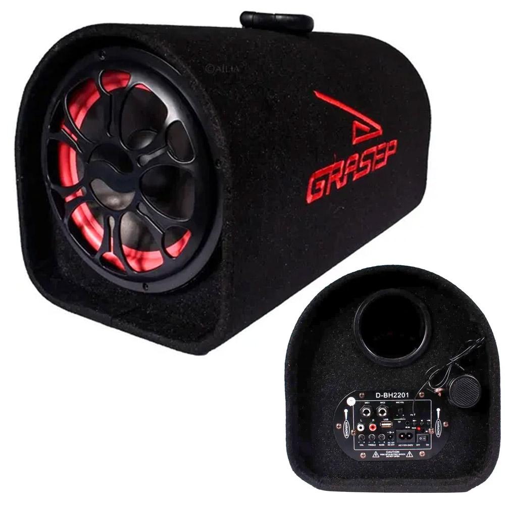 Caixa de Som Bluetooth Amplificada 100W RMS Grasep D-BH2201