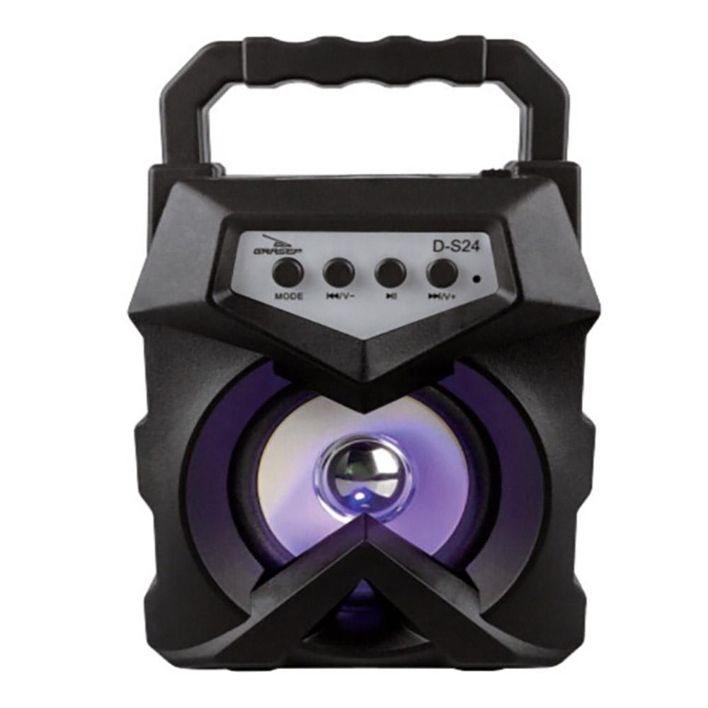 Caixa de Som Bluetooth SD FM 10W RMS Grasep D-S24
