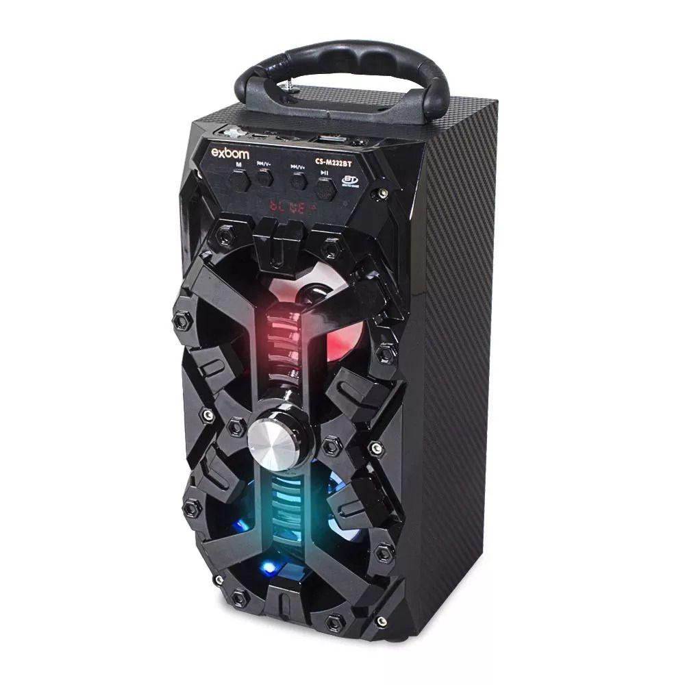 Caixa de Som c/ Bluetooth Exbom cs-m232bt Preto