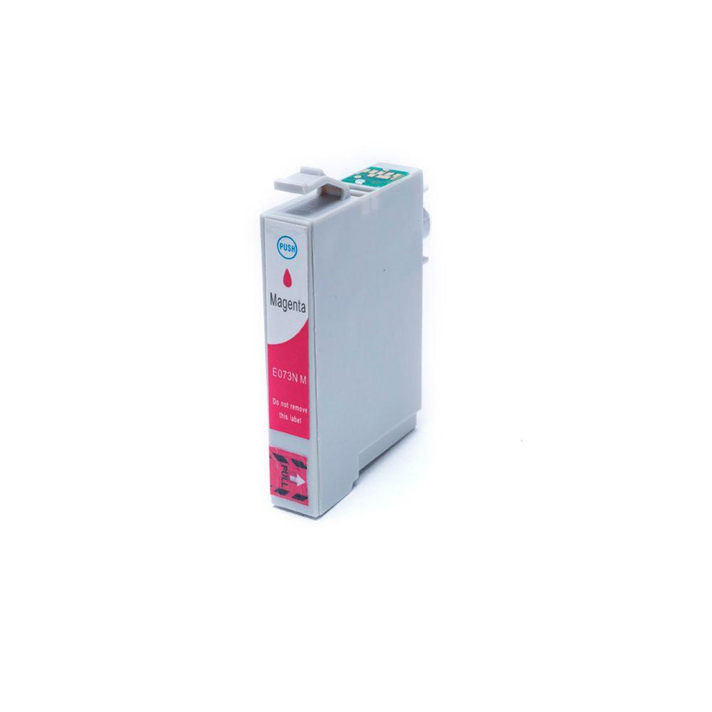 Cartucho Compatível Epson TO 0733N Magenta 14ML