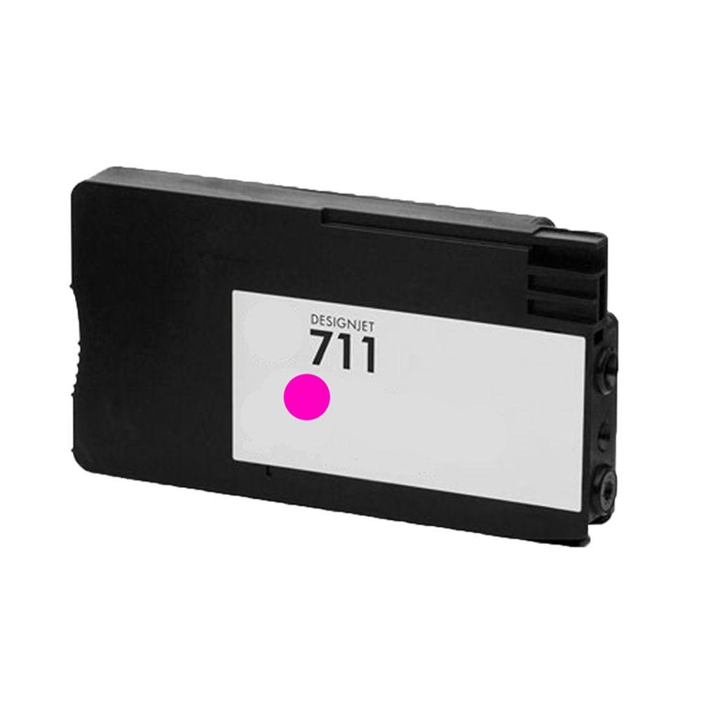 Cartucho de Tinta Compatível HP 711x1 Magenta