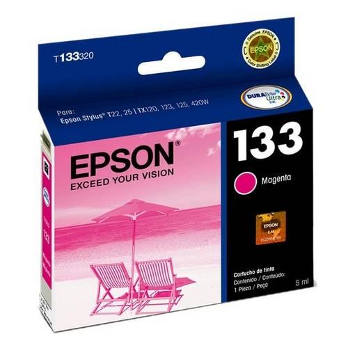 Cartucho de Tinta Epson 133 Magenta