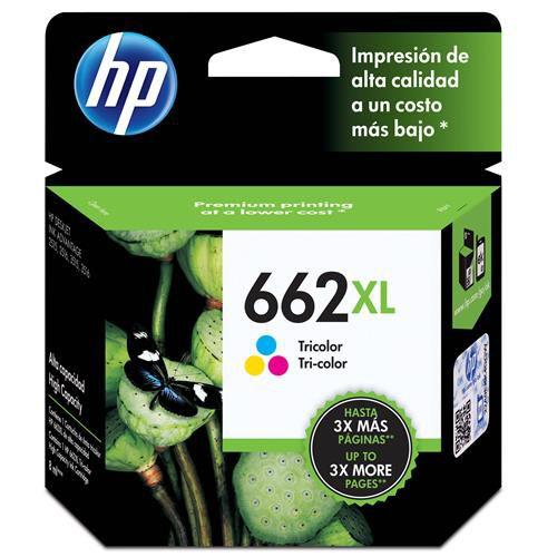 Cartucho de Tinta HP 662XL Colorido