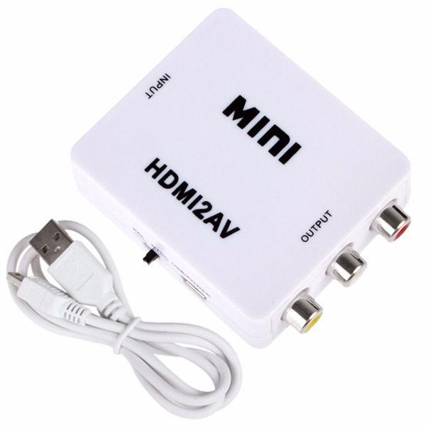 CONVERSOR DE HDMI X AV FULL HD EXBOM