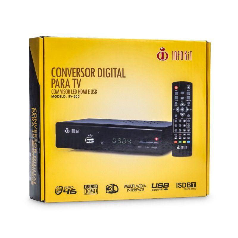 CONVERSOR DIGITAL PARA TV INFOKIT ITV-500