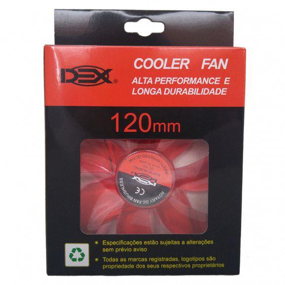 Cooler p/ Gabinete 120mm DEX DX-12L