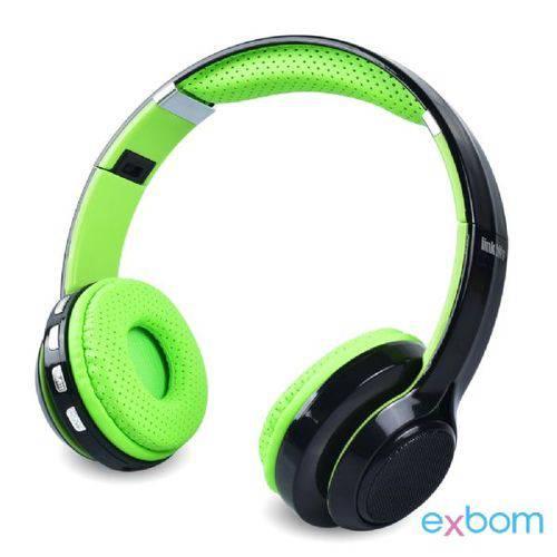 Fone de Ouvido Bluetooth/Multimídia EXBOM HF-420BT
