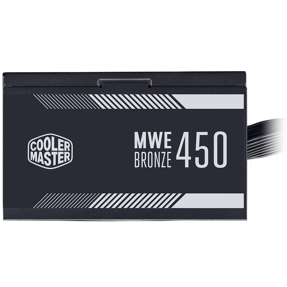 Fonte ATX 450W Cooler Master 80 Plus Bronze Mpe-4501-acaab-br
