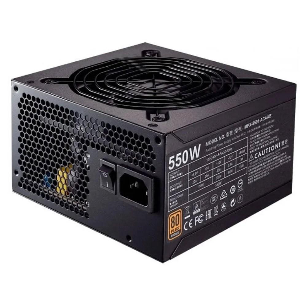 Fonte ATX 550W Dex 80+ Bronze