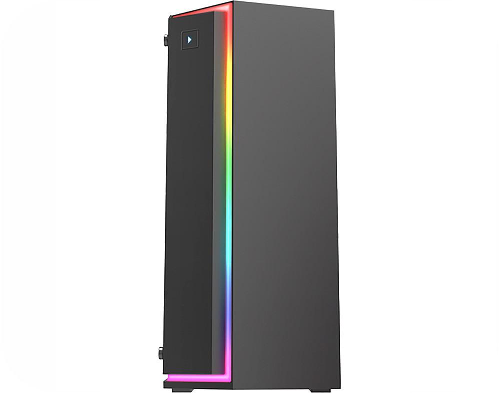 Gabinete Gamer KMex Fox CG06RB RGB Rainbow 1 Fan