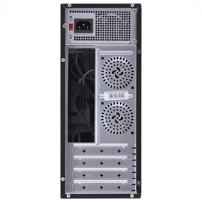 Gabinete Pcyes Slim Micro ATX C/Fonte SFX 200W Preto