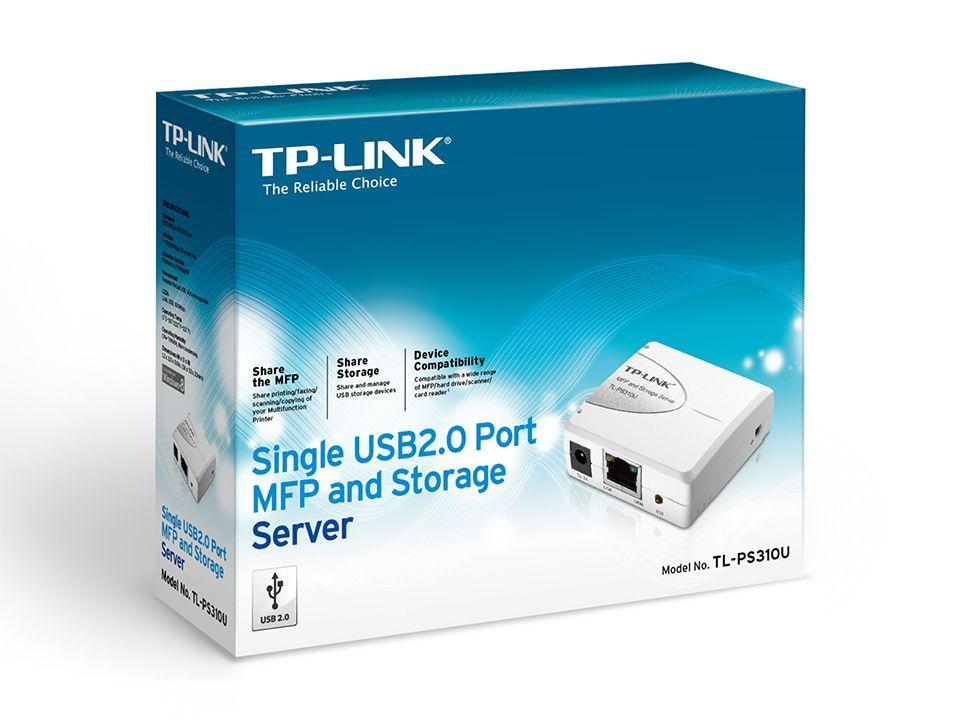 Gerenciador de Impressão Usb 2.0 TP-LINK tl-ps310u