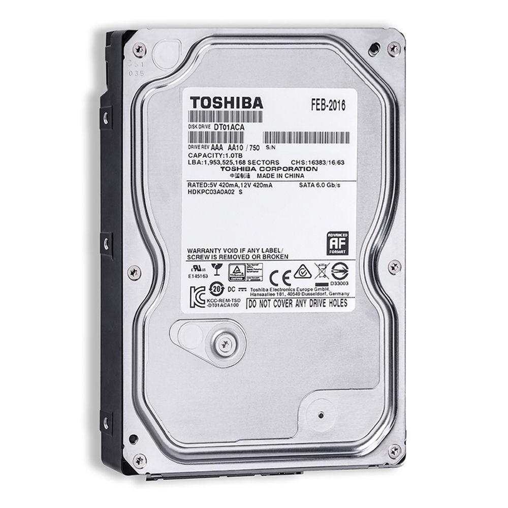 HD 1Tb Toshiba 7200 Rpm