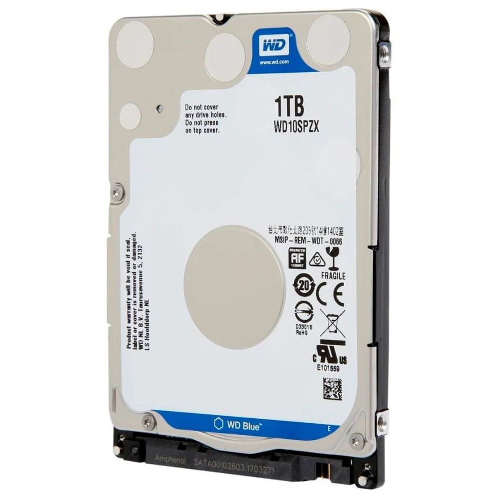 HD Notebook 1tb Western Digital Wd10spzx Blue