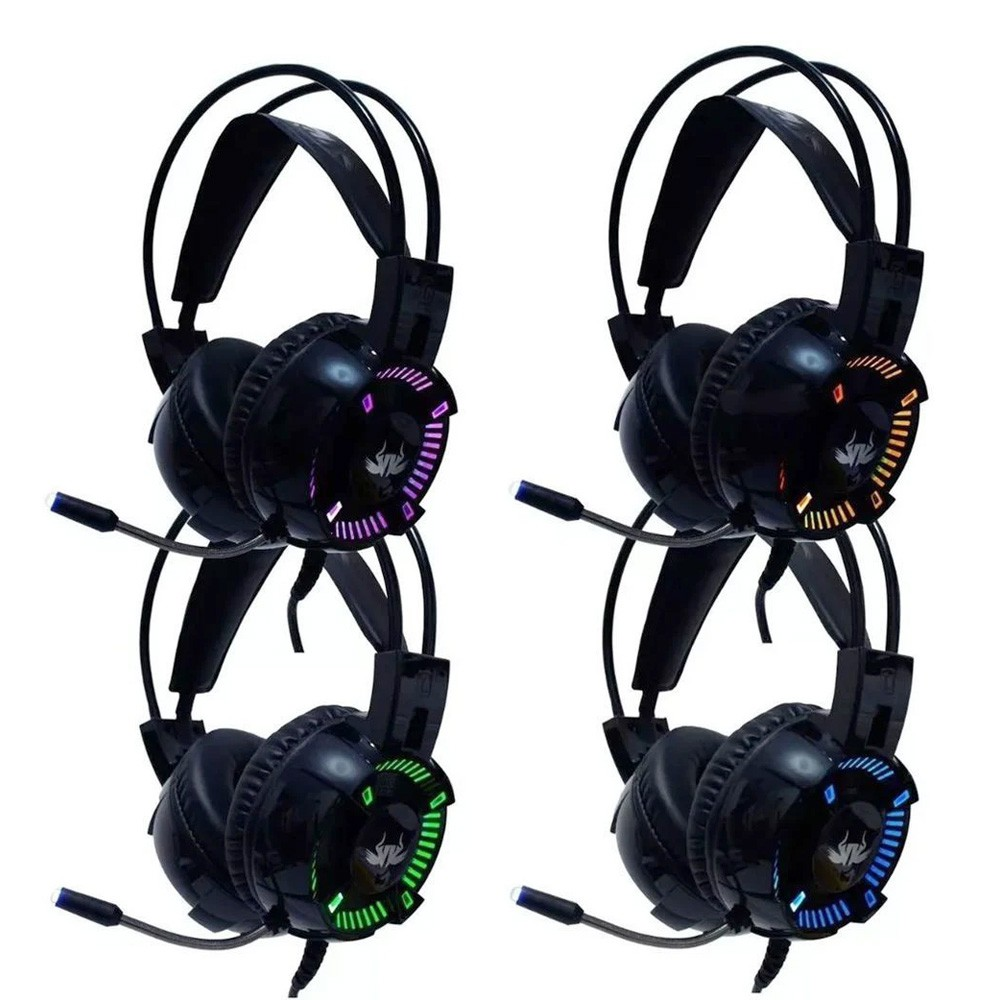 Headset Gamer 7.1 Knup Kp-464