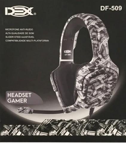 Headset Gamer Dex DF-509