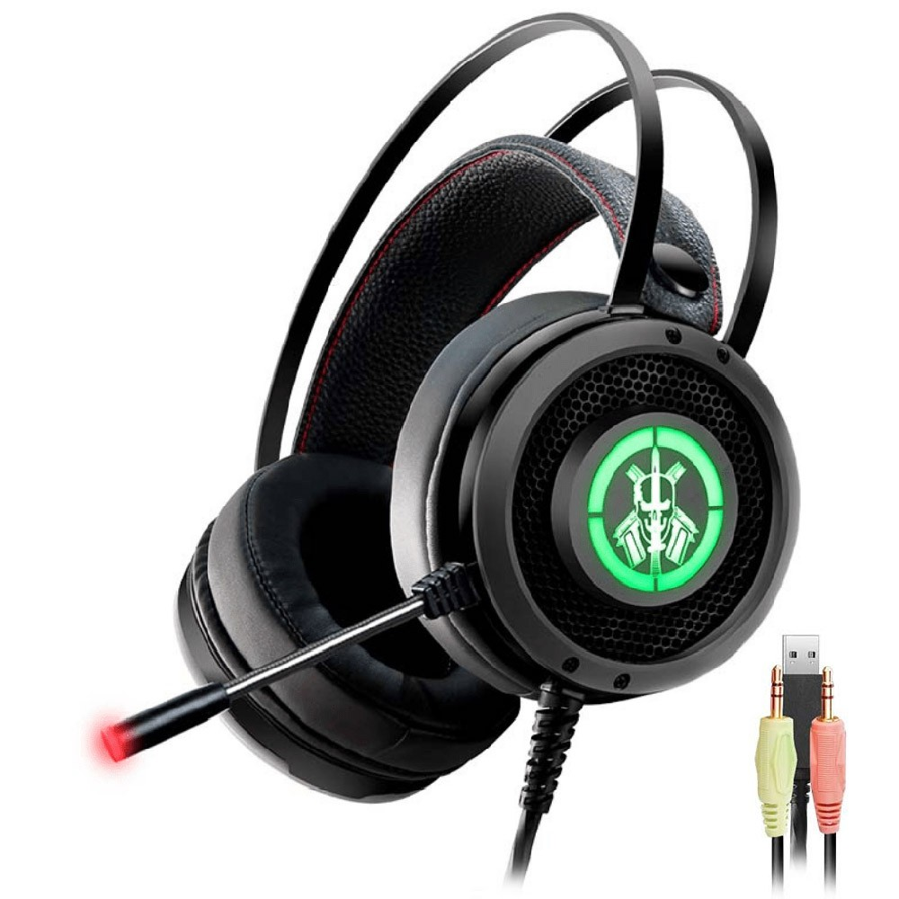 Headset Gamer Kmex AR50 RGB